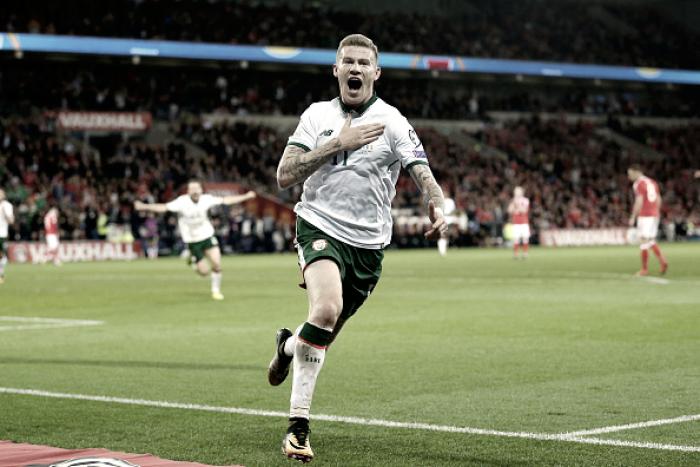 Irlanda supera País de Gales e se garante na repescagem; Sérvia bate Geórgia e está na Copa