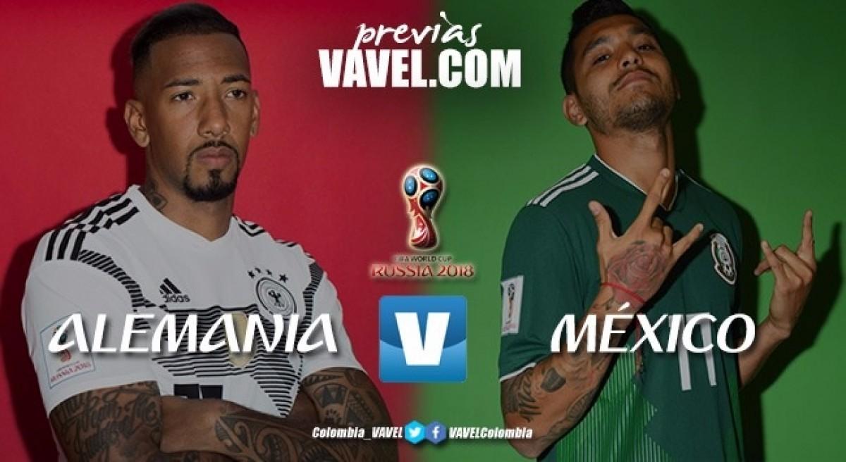 Previa Alemania vs. México: 'David quiere vencer a Goliat'