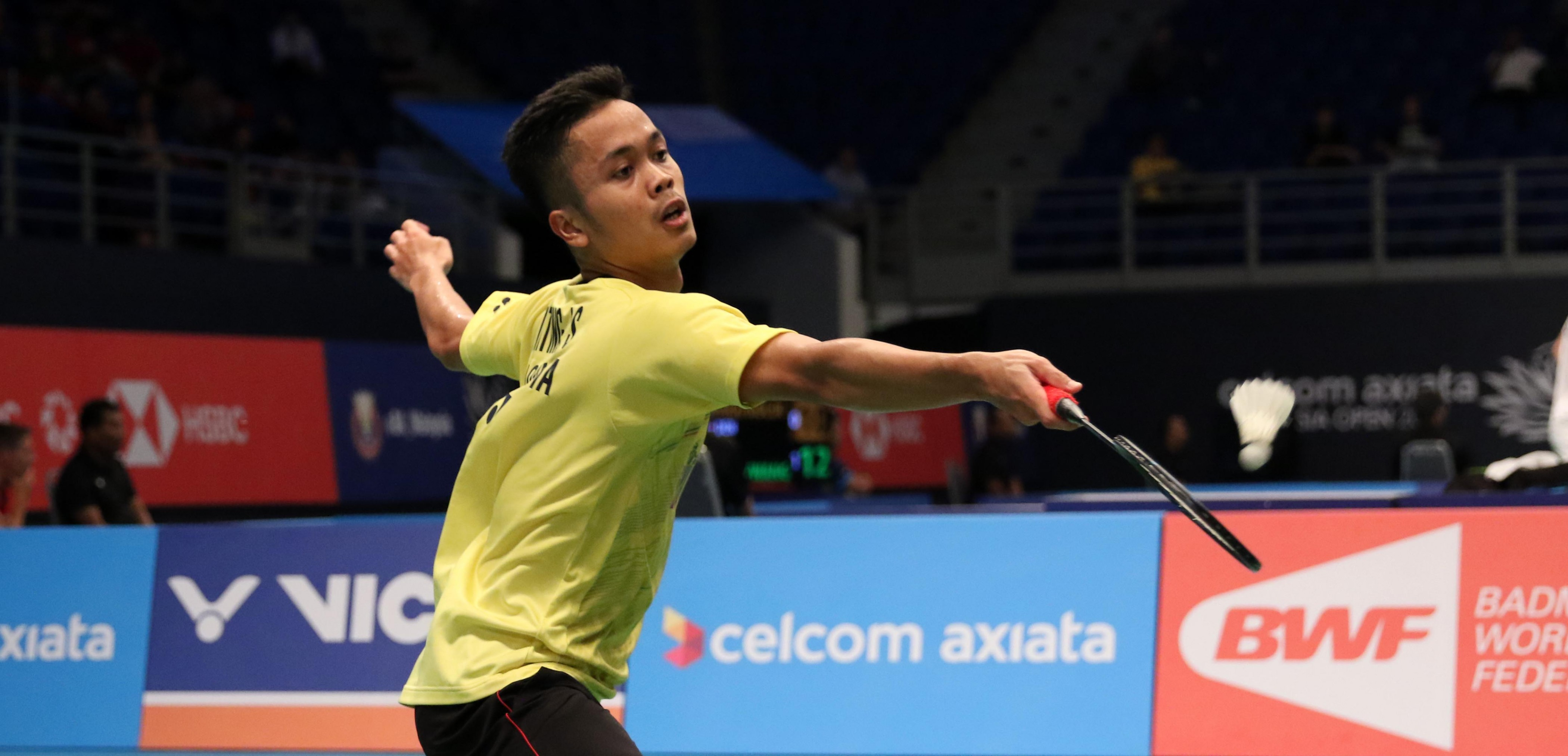 Anthony Jumpa Axelsen di Perempat Final Japan Open 2018