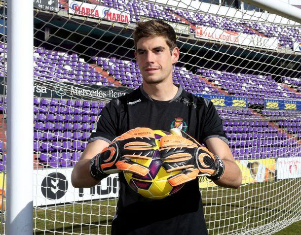 Raúl Fernández, nuevo jugador del Mirandés