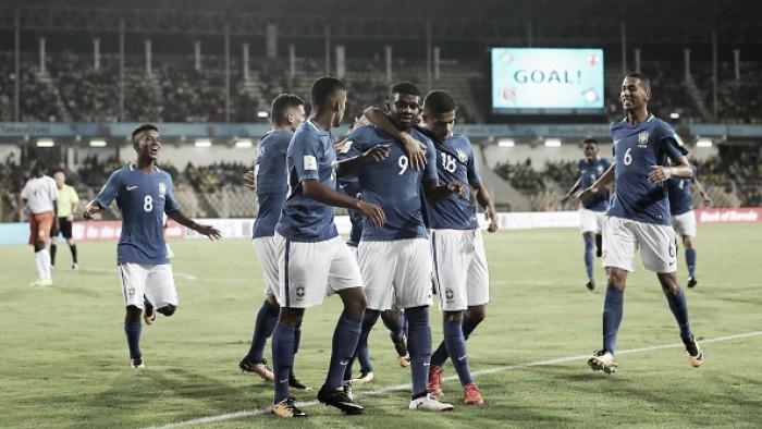 Sub17: Brasil vence Níger, confirma liderança do grupo e deve encarar Honduras nas oitavas