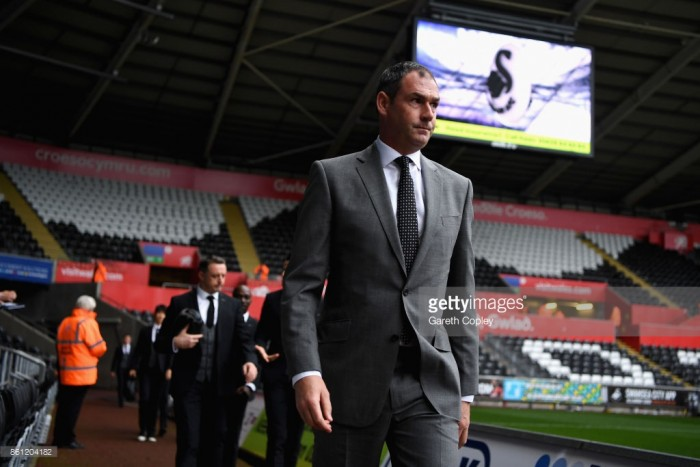 """Paul Clement is """"proud"""" that Swansea City got a win over Huddersfield Town"""