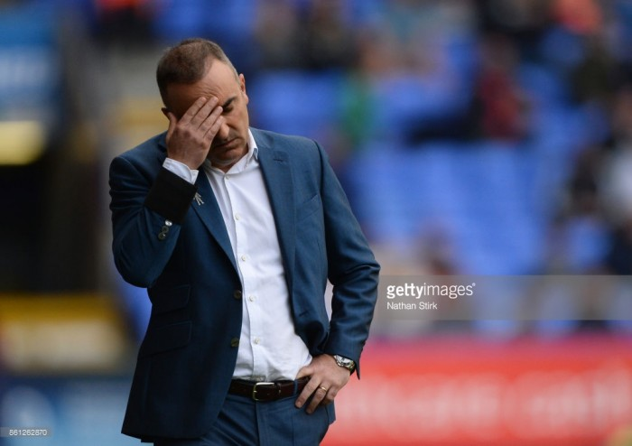 Sheffield Wednesday manager Carlos Carvalhal bemoans his side's luck following 1-1 draw with Barnsley