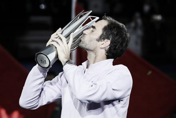 Com atuação de gala, Roger Federer vence Nadal e conquista Masters 1000 de Xangai