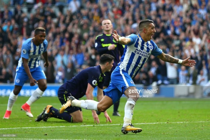 Anthony Knockaert says Brighton will learn from Everton draw