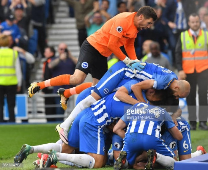 Player ratings as Brighton take a point against Everton