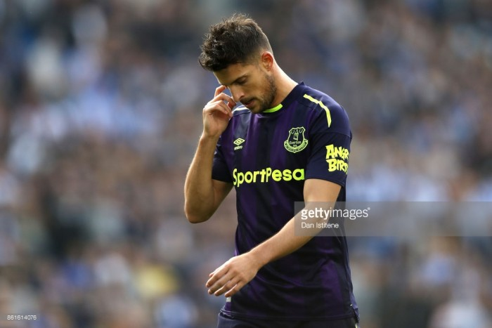 Kevin Mirallas set to depart Everton for Olympiacos