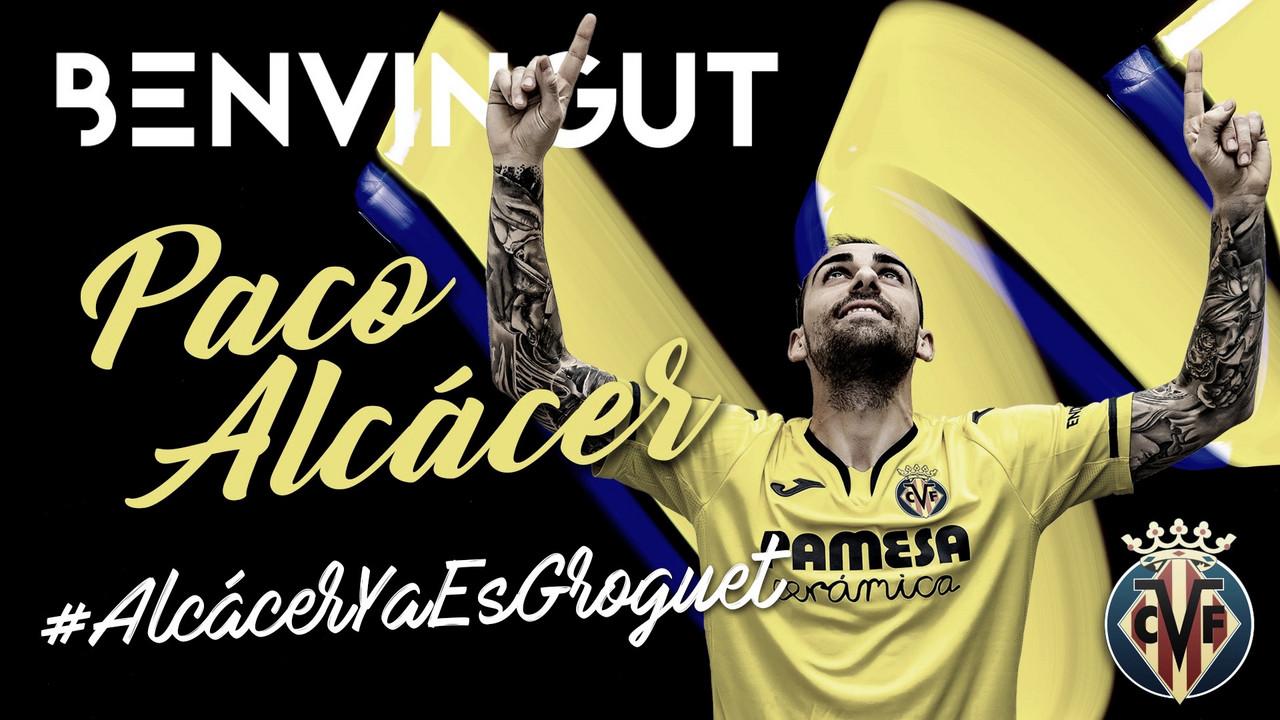 OFICIAL: Paco Alcácer se convierte en el fichaje más caro del Villarreal