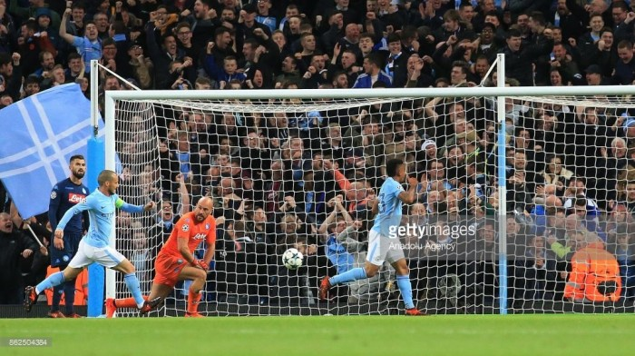 Manchester City 2-1 Napoli: Citizens keep marching on despite pressure from thorny Napoli