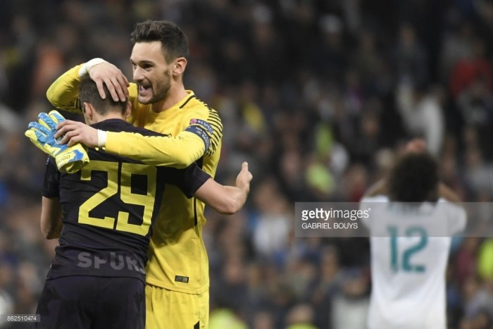 Real Madrid 1-1 Tottenham Hotspur: Lloris heroics earn Lilywhites hard fought point in Spain