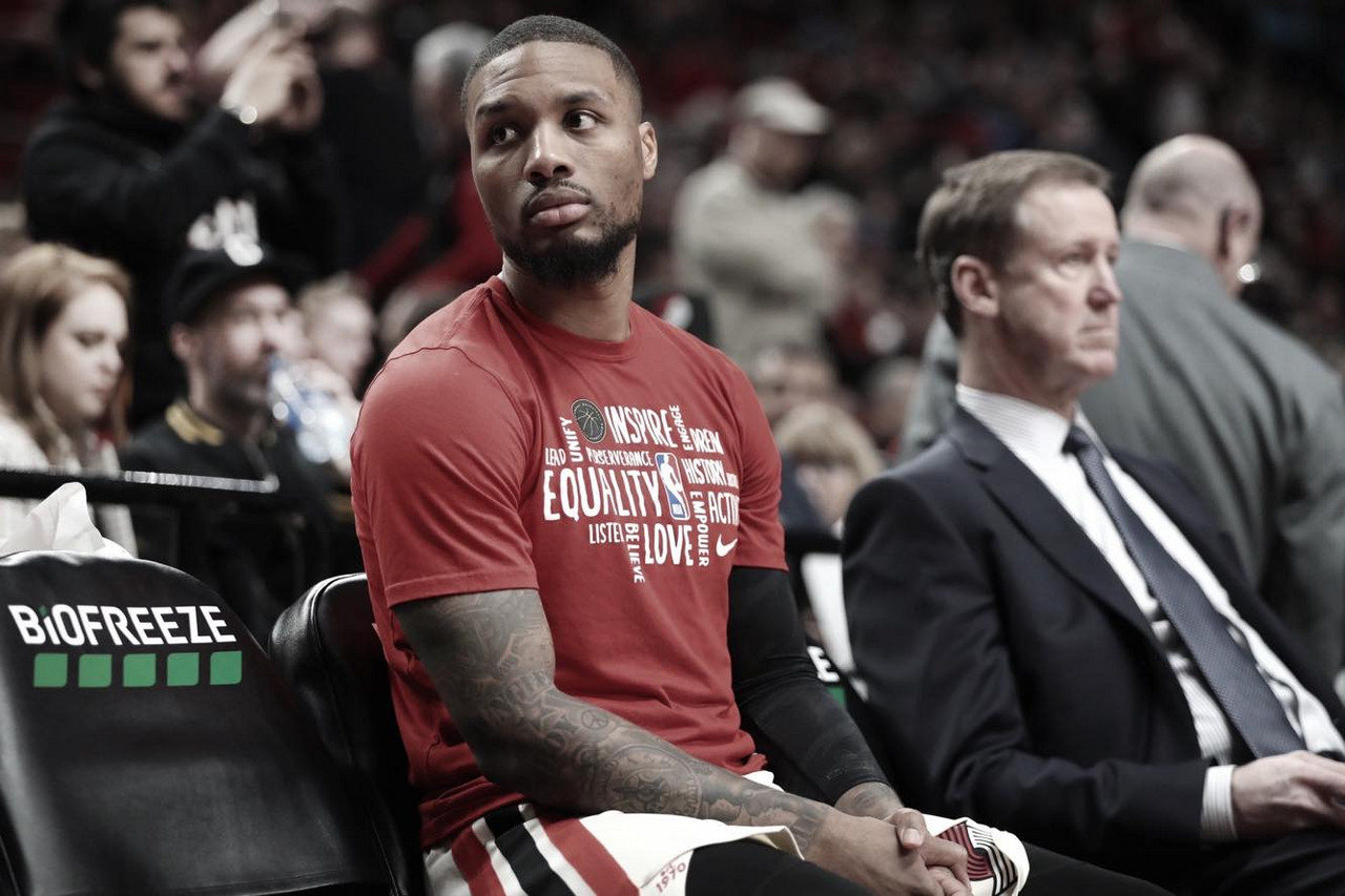 Damian Lillard won't be part of the festivities in Chicago