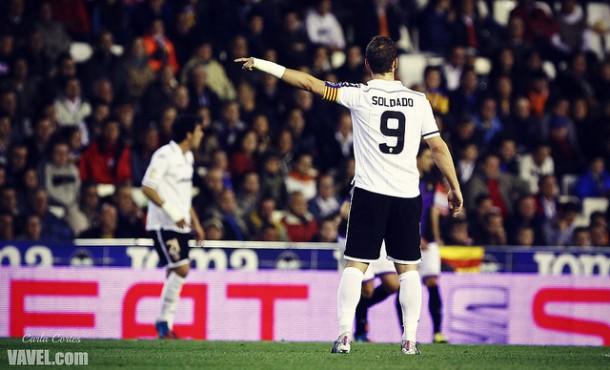 Soldado deja el Valencia por el Tottenham