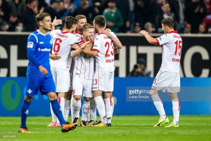 Fortuna Düsseldorf 1-0 SV Darmstadt 98: Early Emir Kujovic goal puts leaders six points clear