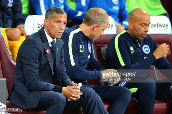 Hughton warns his Brighton side against complacency