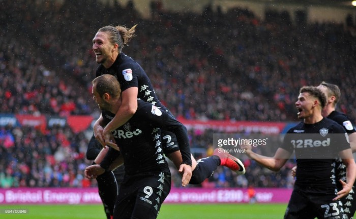 Championship Matchday 13 Round-Up: Leeds end poor run of form in style with win against Bristol City at Ashton Gate