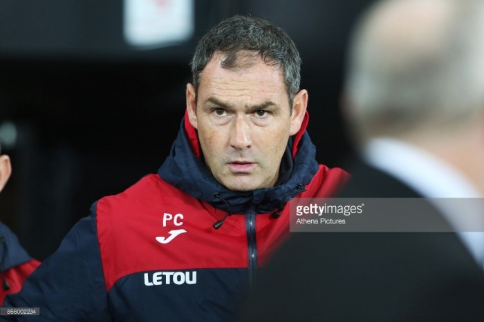 "Paul Clement ""disappointed"" after Swansea City's loss to Manchester United"