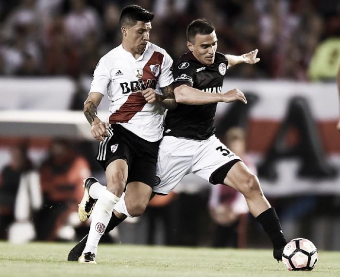 River falha final ao perder em casa do Lanús — Libertadores