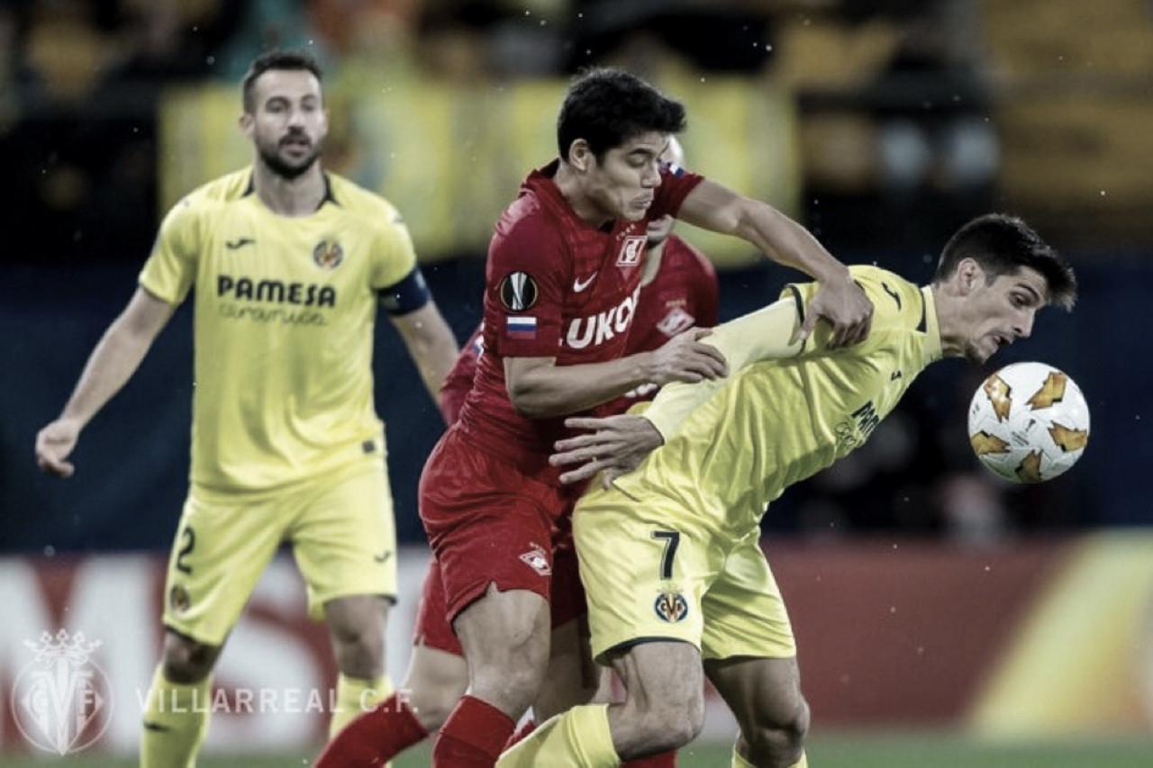 Villarreal vence lanterna Spartak Moscou e se classifica como primeiro no grupo G