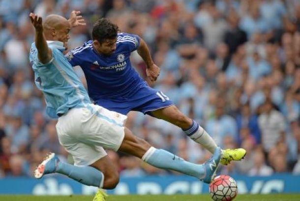 City domine très largement Chelsea