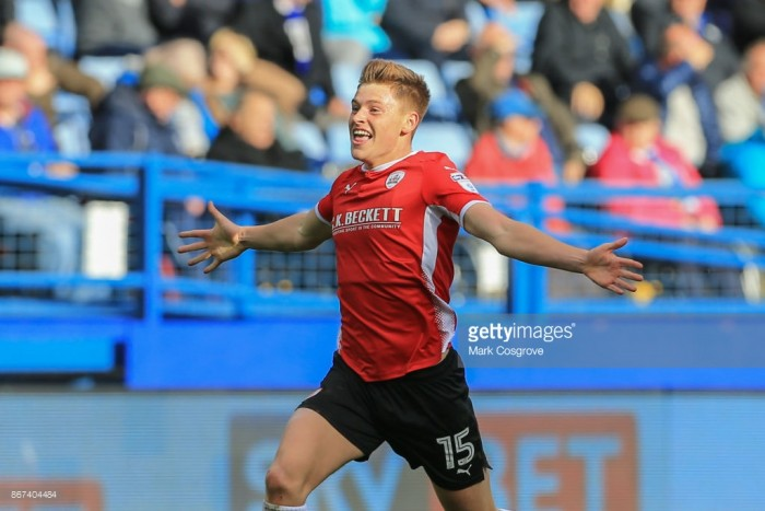 """Barnsley winger Harvey Barnes """"growing in confidence each game"""" following stunning equaliser against Sheffield Wednesday"""