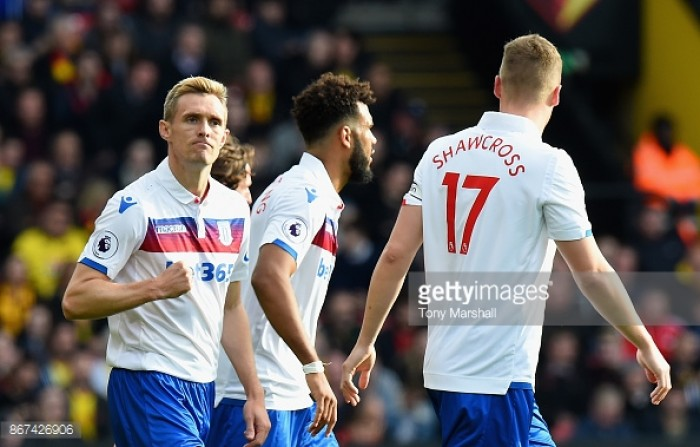 "Stoke City executed gameplan ""perfectly"" according to Mark Hughes"