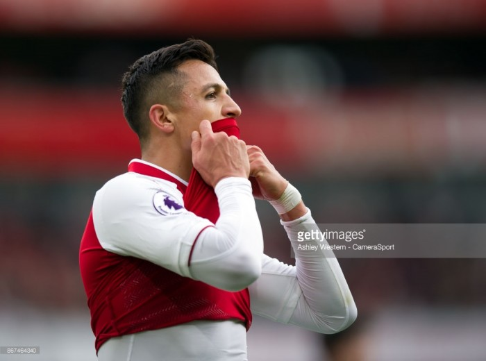 Arsene Wenger not worried about Alexis Sanchez's current form in front of goal