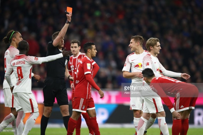 Bayern Munich 2-0 RB Leipzig: Champions return top after breezing past ten men