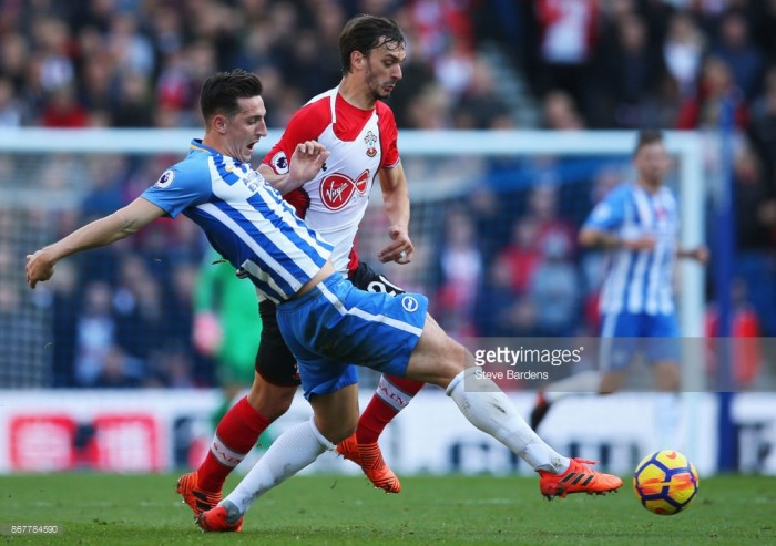 "Brighton defender Lewis Dunk says side showed ""character"" in Saints draw"