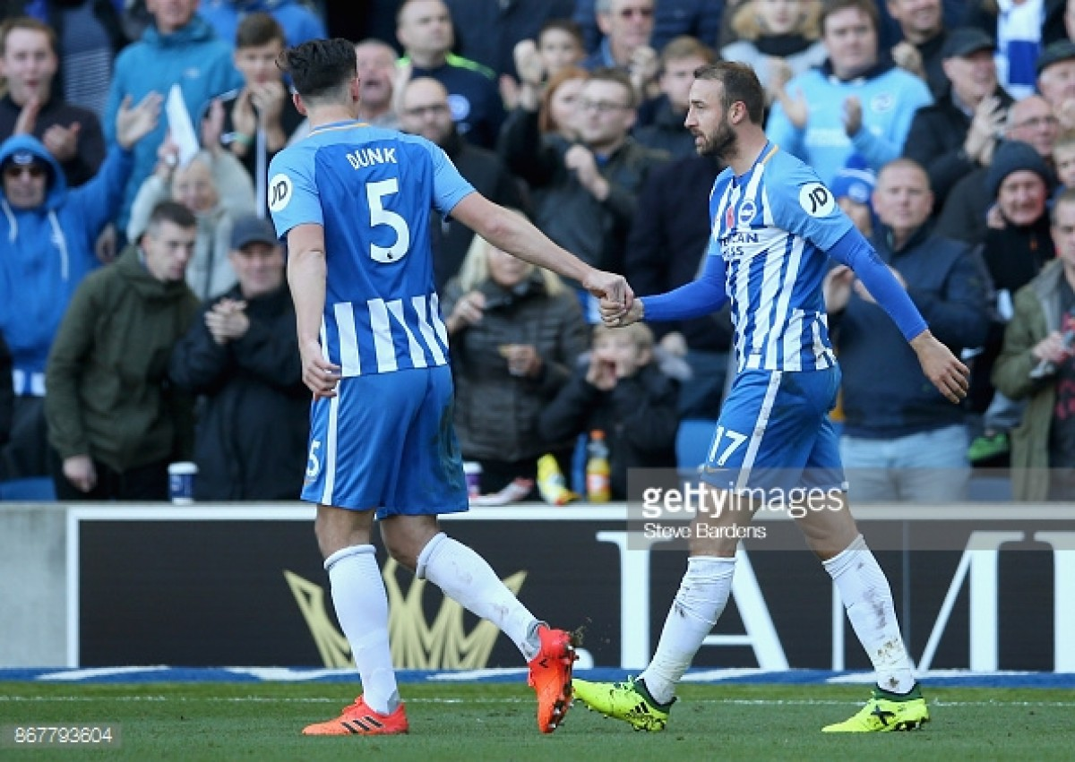 Glenn Murray believes Lewis Dunk deserves an England call-up