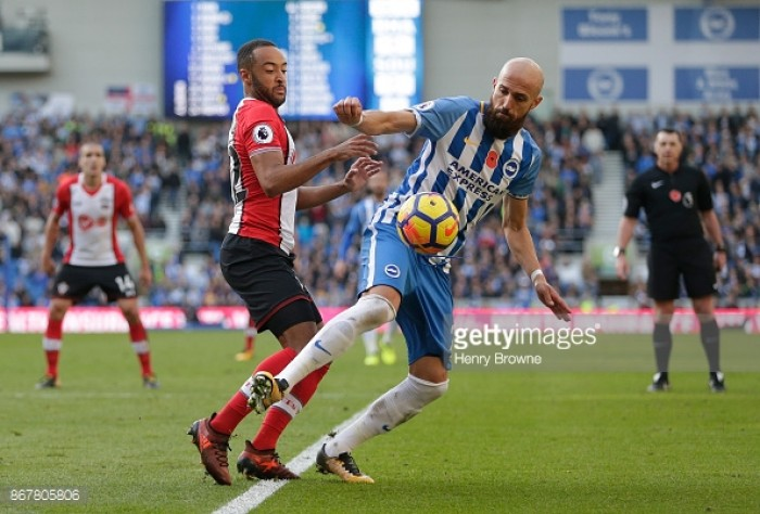 Brighton & Hove Albion defender Bruno pleased to make it to 200 appearances