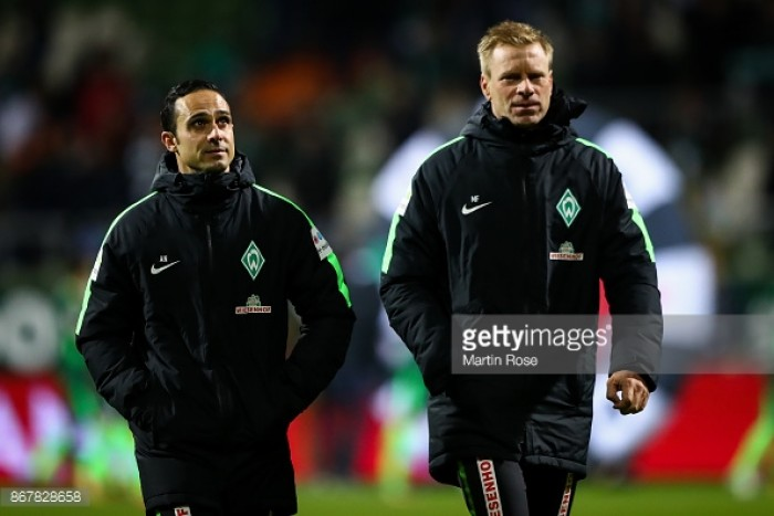 Werder Bremen dismiss head coach Alexander Nouri