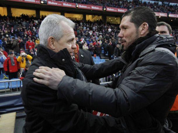 Javier Aguirre, siete victorias y cuatro derrotas contra el Atlético de Madrid