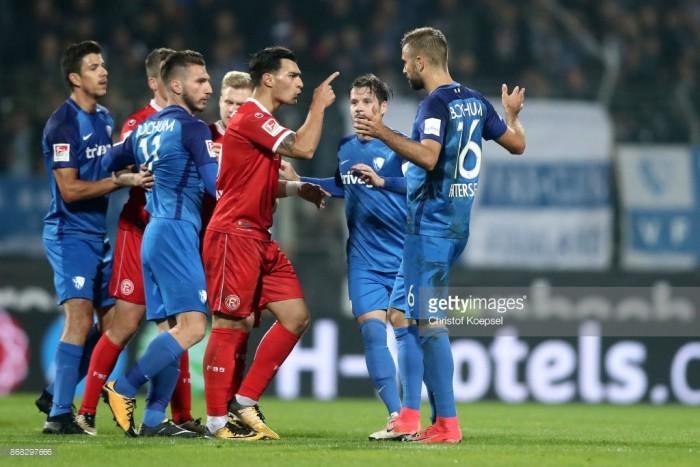 VfL Bochum 0-0 Fortuna Düsseldorf: Controversy dominates lively derby stalemate