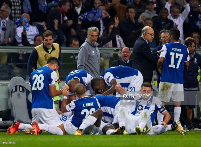 FC Porto 3-1 RB Leipzig: Portuguese side up to second in Group G