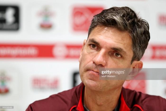 Mauricio Pellegrino looks ahead to weekend visit of Burnley