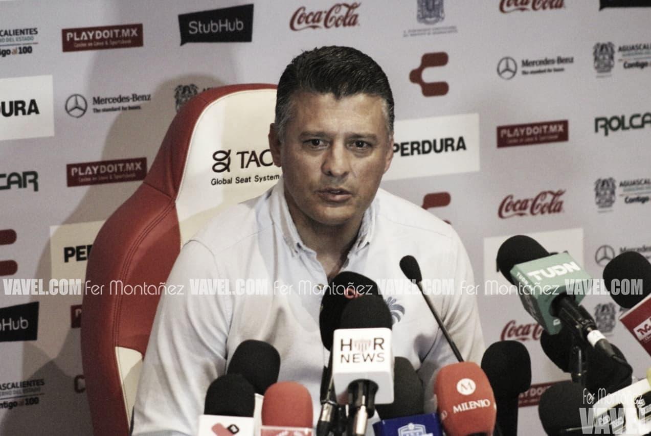 """Sergio Almaguer: """"Vamos partido a partido"""""""