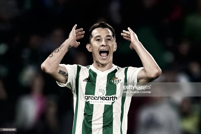 Andrés Guardado, la gran estrella del Real Betis
