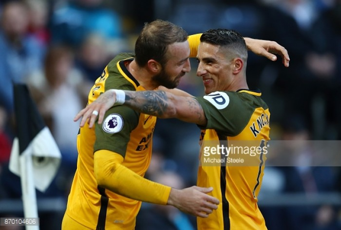 Brighton battle back to share the points with Stoke