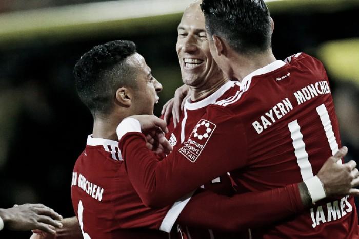 Superior, Bayern vence clássico contra Borussia Dortmund e dispara na liderança