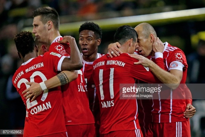 Borussia Dortmund 1-3 Bayern Munich: Bayern emerge victorious in dominant display