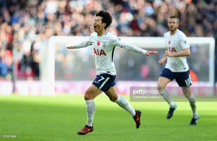 Tottenham Hotspur 1-0 Crystal Palace: Son's fantastic strike punishes wasteful Eagles at Wembley