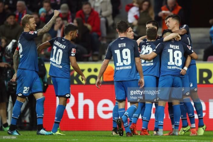 1. FC Köln 0-3 TSG 1899 Hoffenheim: Wagner shines as the Billy Goats lose yet again