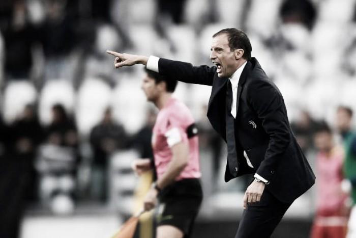 Allegri critica 'precipitada' Juventus, mas comemora vitória suada contra o Benevento