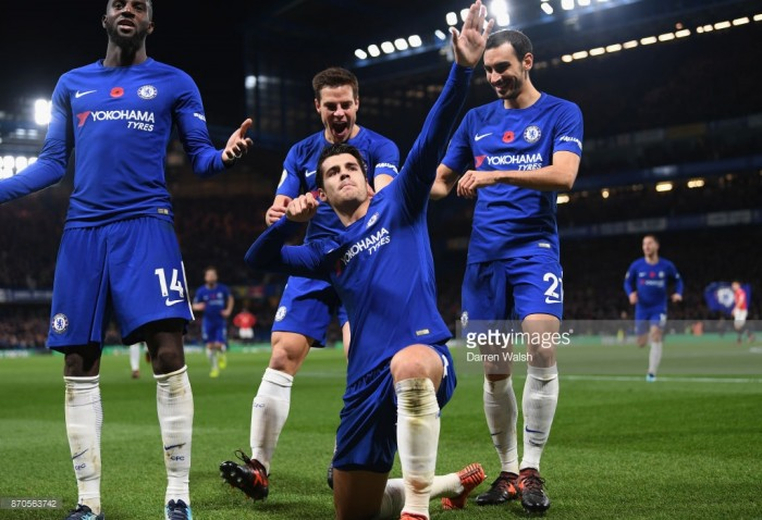 Chelsea 1-0 Manchester United: Morata's header makes it another unhappy return for Mourinho's men