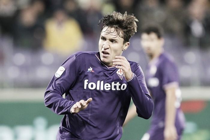 Promessa da Fiorentina, Chiesa renova contrato e se torna o jogador com maior salário do clube