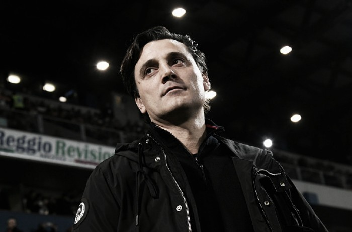 Montella acredita em grande evolução do Milan após boa vitória contra o Sassuolo