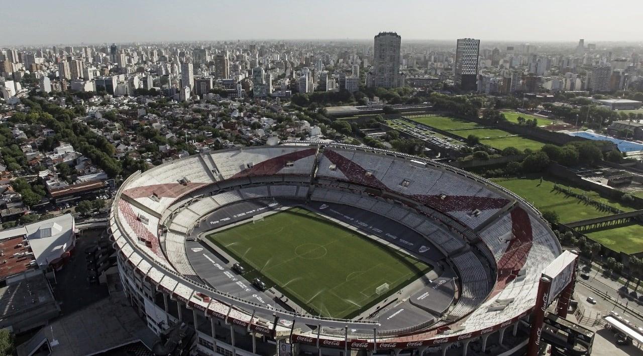 Gramado sintético e sem pista de atletismo: River Plate estreará novo Monumental de Nuñez contra Rosario Central