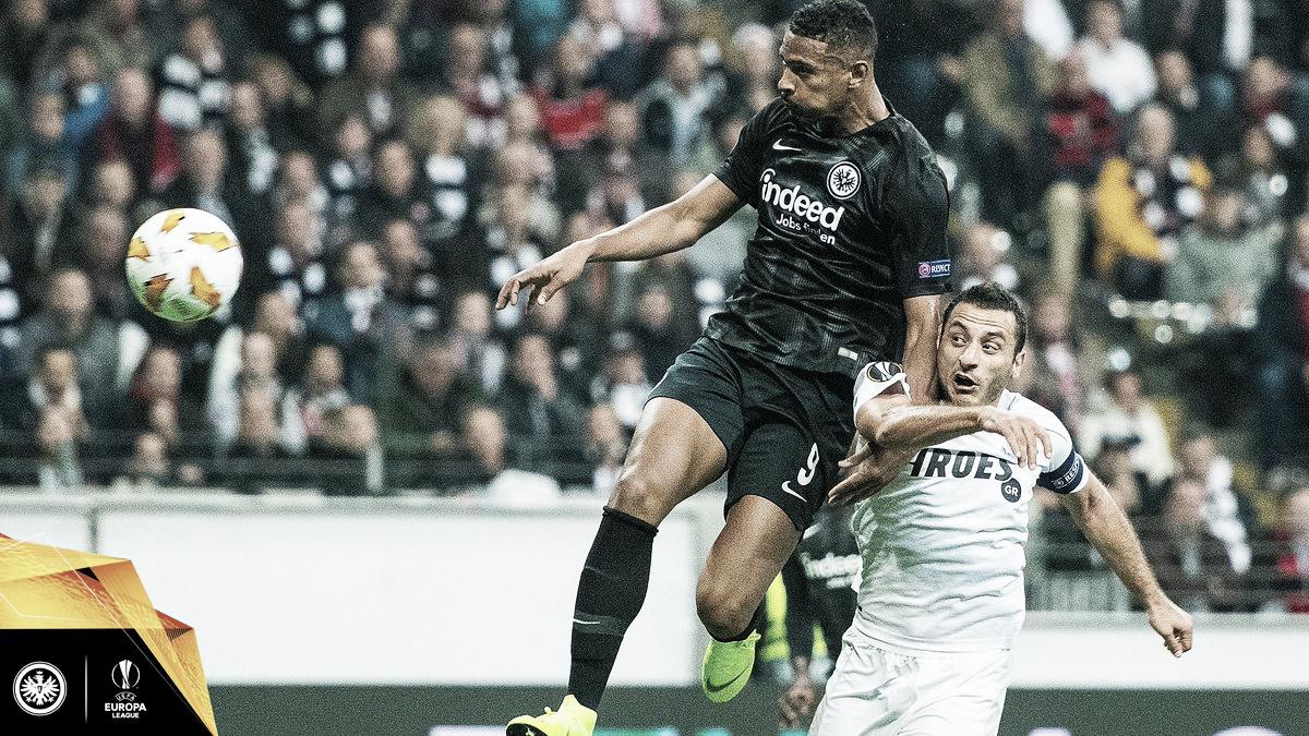 Com direito a frango de goleiro, Eintracht Frankfurt bate Apollon e segue invicto na UEL