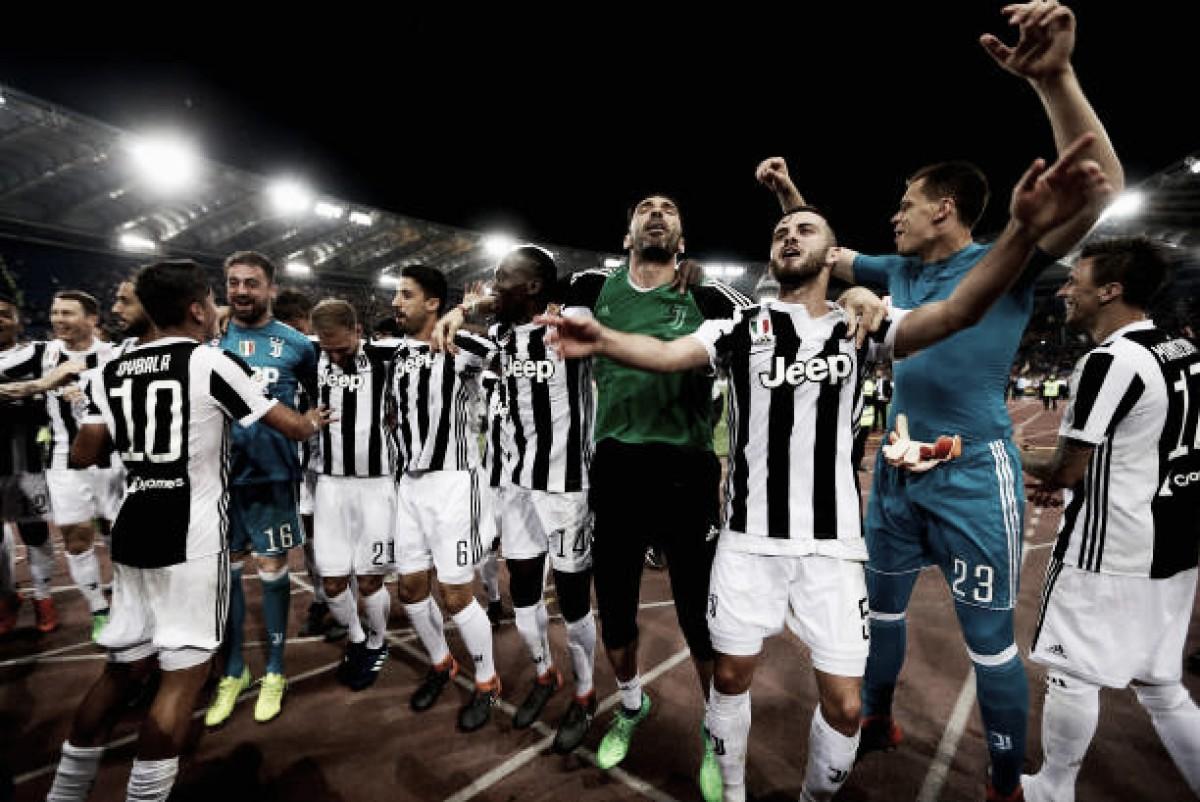 Juventus fica no empate com Roma e conquista heptacampeonato italiano