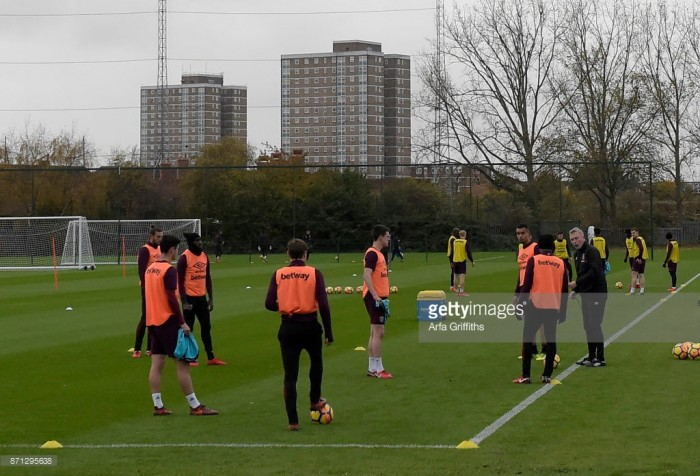 West Ham players impressed by David Moyes' training sessions